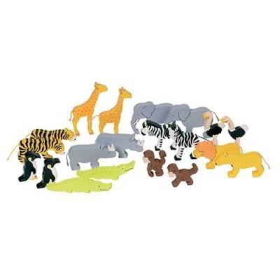 Animais da selva 20 peças