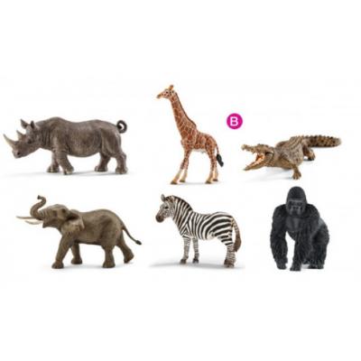 Animais da selva e savana