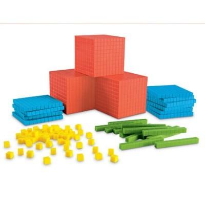 Base 10 Básico colorido - Sala de Aula