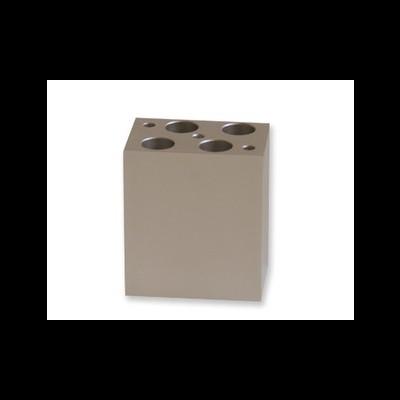 Bloco metálico de 4x15 mL para Mini T