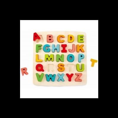 Puzzle de madeira - Alfabeto