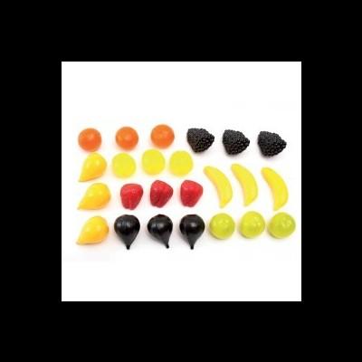 Frutas em miniaturas