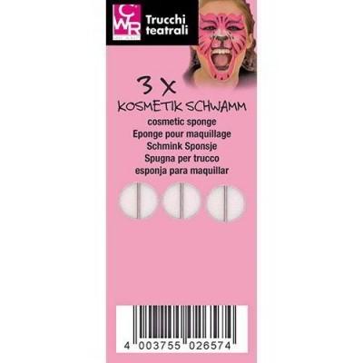 Conjunto 6 Esponjas de Maquilhagem