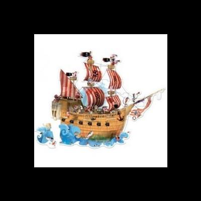 Puzzle, Sol - Navio pirata