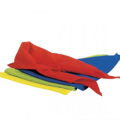 4 lenços triangulares de algodão