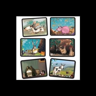 Puzzle de Associação - Animais
