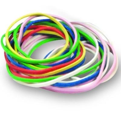 Elásticos coloridos