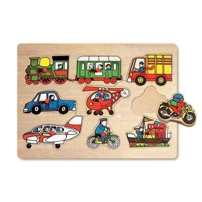 Puzzle Transportes - 8 peças
