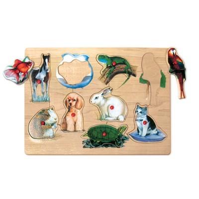 Puzzle Animais Domésticos