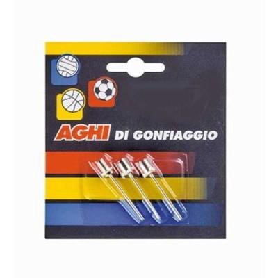 Conjunto de agulhas metálicas para enchimento de bolas