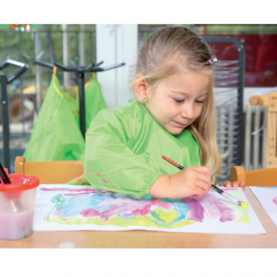 Batas de poliéster - (2-4 anos)