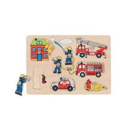 Puzzle - Bombeiros - 8 peças