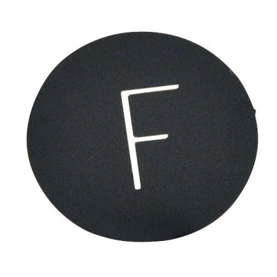 Letra F Ø 40 mm
