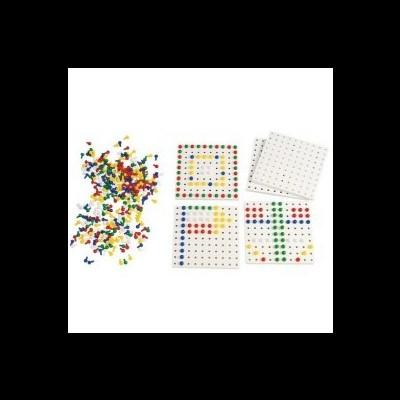 1000 pivôs em 5 cores