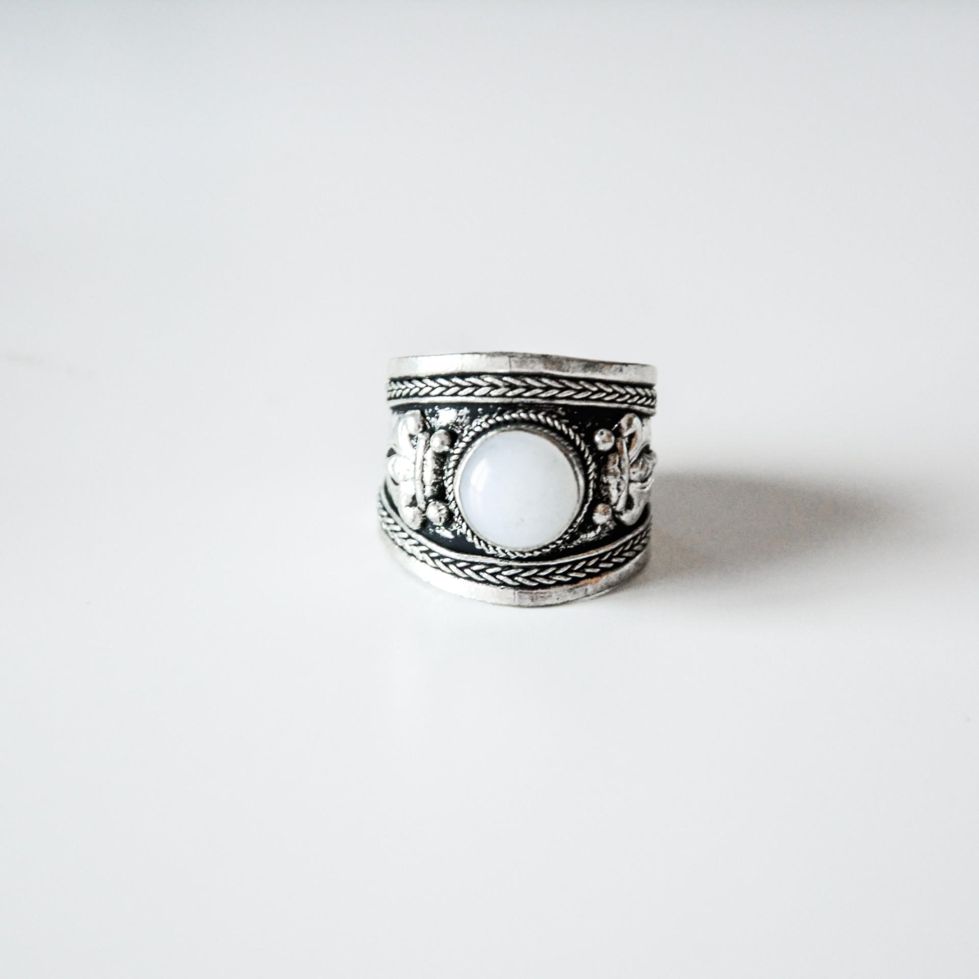 Anel em prata - Anniston