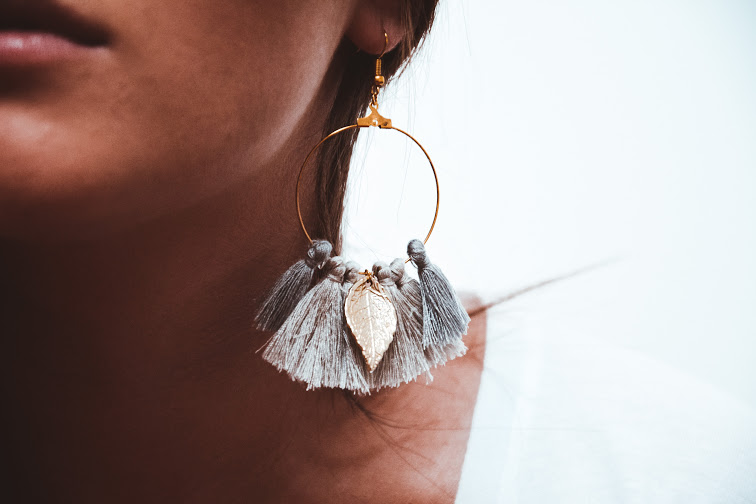 Summer earrings - v4