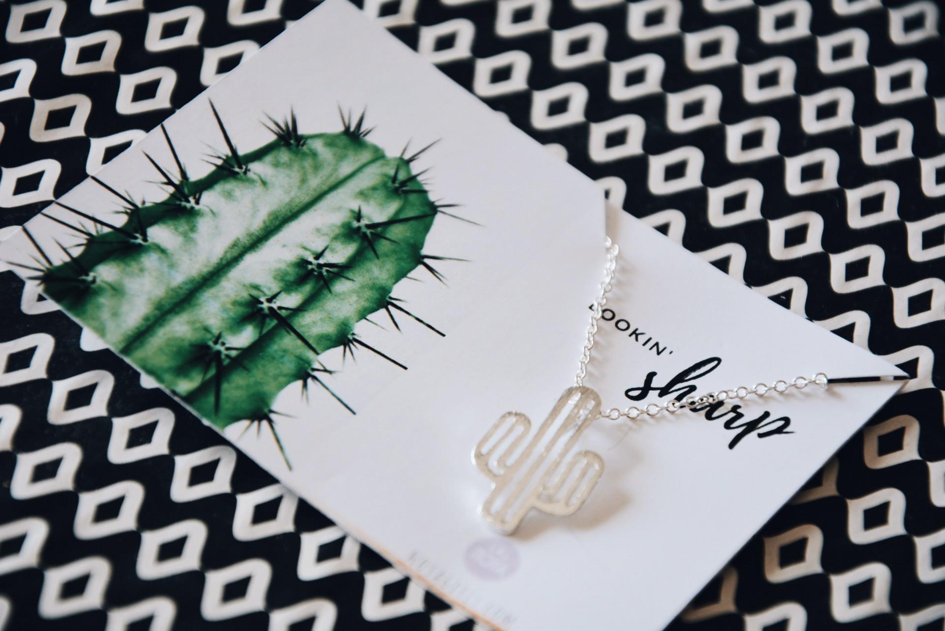 Colar - Cactus - Edição Especial