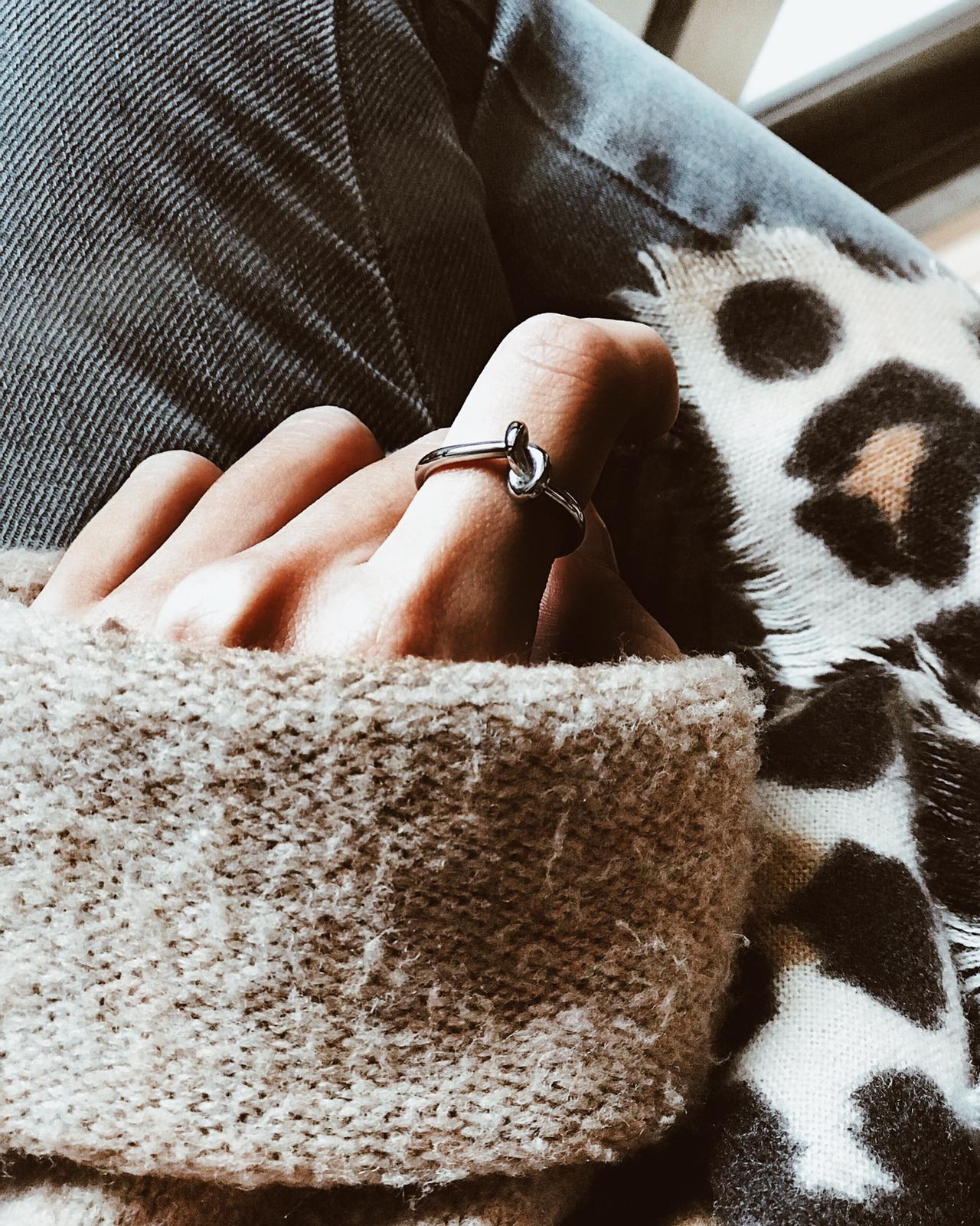 Anel em Prata - Simple Knot