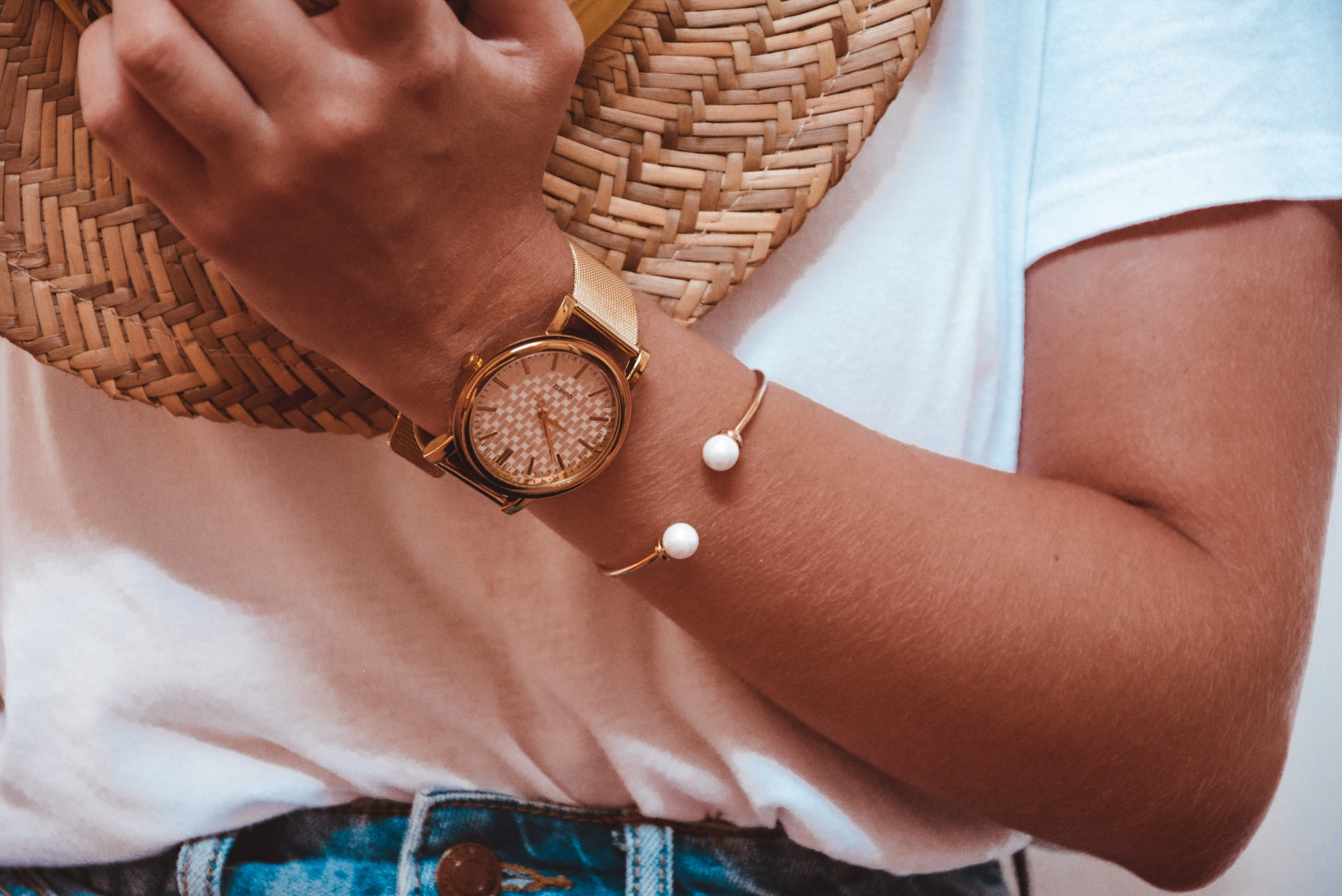 Pulseira - Gold Pearls