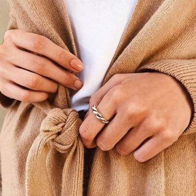 Anéis em prata - Omer
