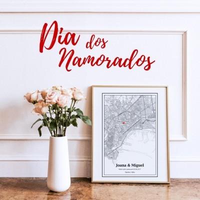 Mapa - Valentine's Day