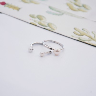 Anel em prata - Aurora