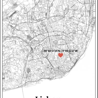 Cópia de Moment in a Map - Coordinates