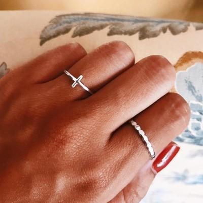 Anéis em prata - Isabella