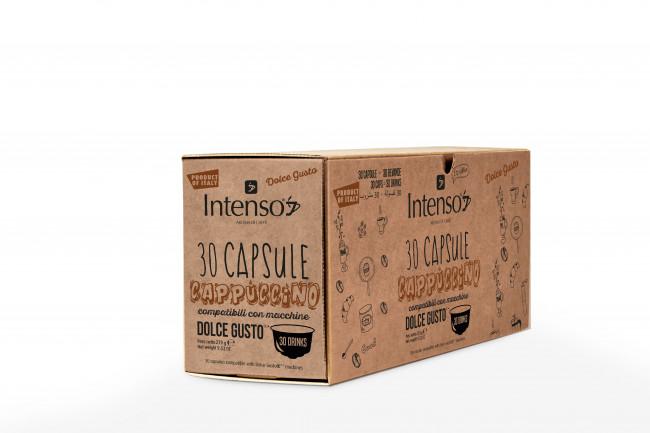 Compatíveis Dolce Gusto Cappuccino 30 Unidades