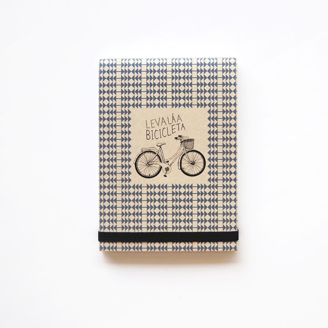 """Bloco de notas """"Leva la a bicicleta"""""""