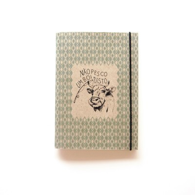 """Cadernos Pequenos """"Não pesco um boi disto"""""""