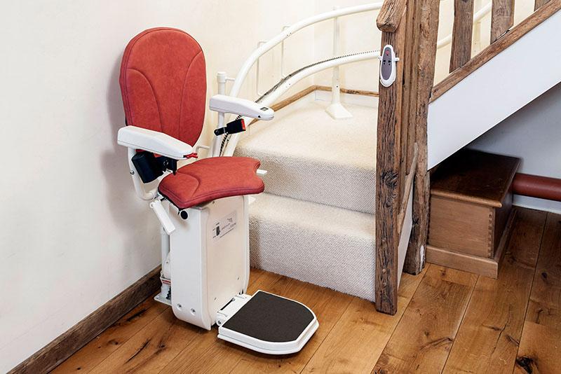 Cadeira Elevador de Escada Curva