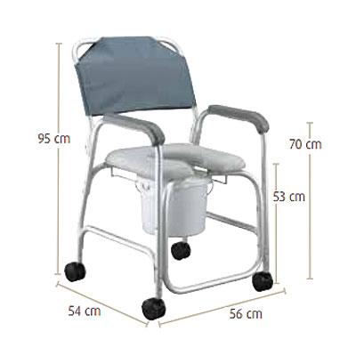Cadeira de Banho e Sanitária