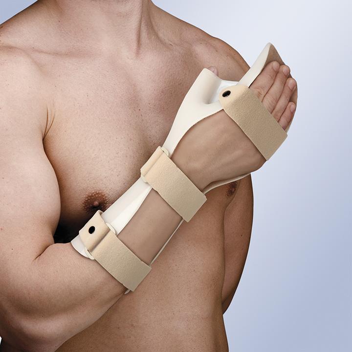 Tala de Imobilização de Mão em Posição Funcional