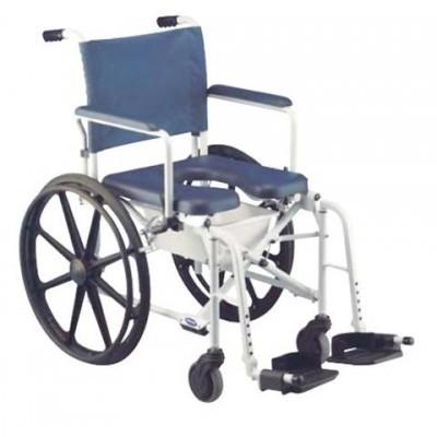 Cadeira sanitária ou banho c/ roda grande Lima Invacare