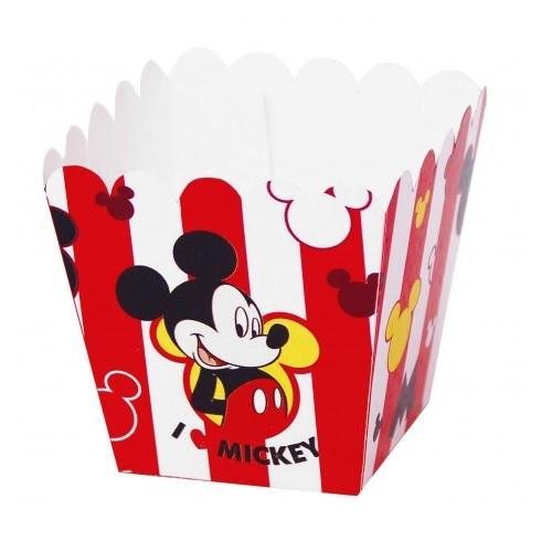 Conj. 12 Pacotes Pipocas Mickey Pequenos
