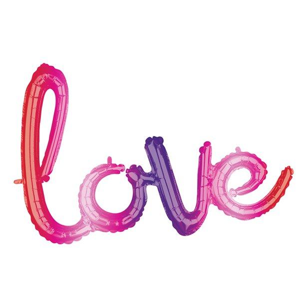 Balão Love Ombre