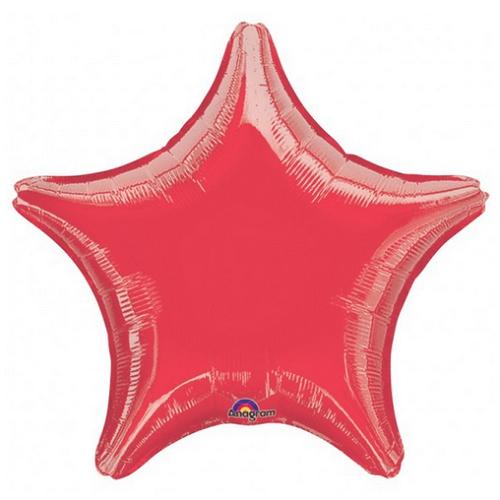 Balão Estrela Vermelho