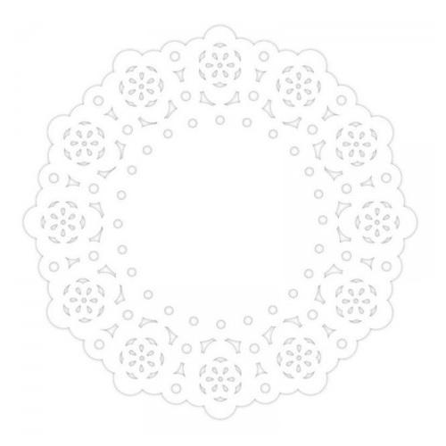 Mini Naperons Branco