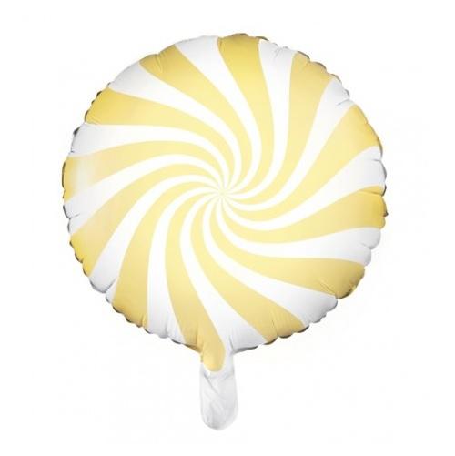 Balão Candy Amarelo Claro