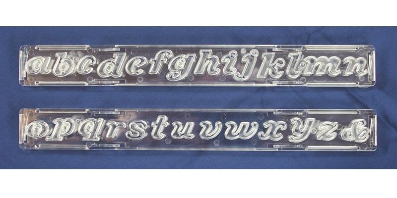 Cortador Clikstix Script Letras Minúsculas