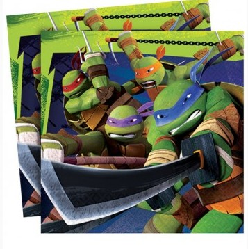 Guardanapos Tartarugas Ninja
