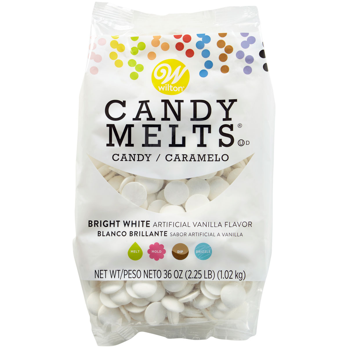 Chocolate Candy Melts Branco Brilhante 1Kg