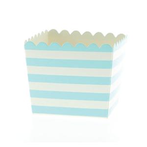 Caixinha Azul Claro Riscas