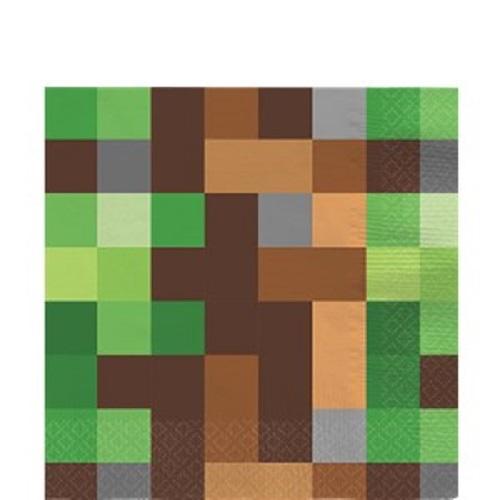 Guardanapos Minecraft Grandes