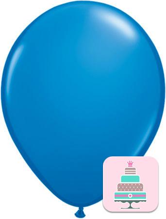Balão Azul Escuro