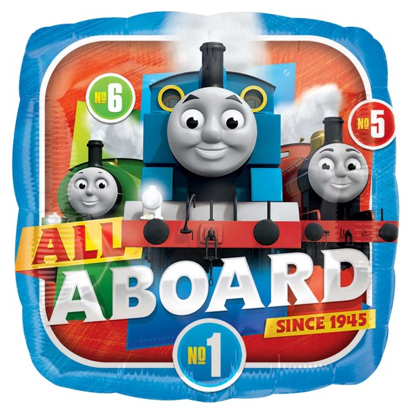 Thomas e os Amigos Quadrado Balão Médio