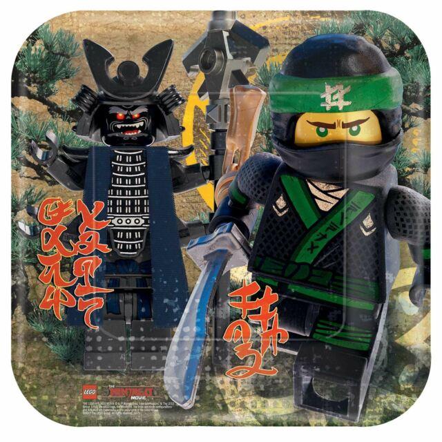Pratos Lego Ninjago Grandes