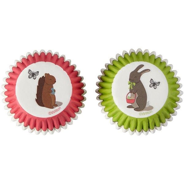 Conj. 100 Formas Mini Coelhinho e Esquilo