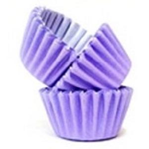 Conj. 100 Mini Forminhas Lilás
